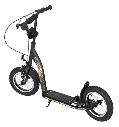 bikestar premium kinderroller ab 6 jahren schwarz. Black Bedroom Furniture Sets. Home Design Ideas